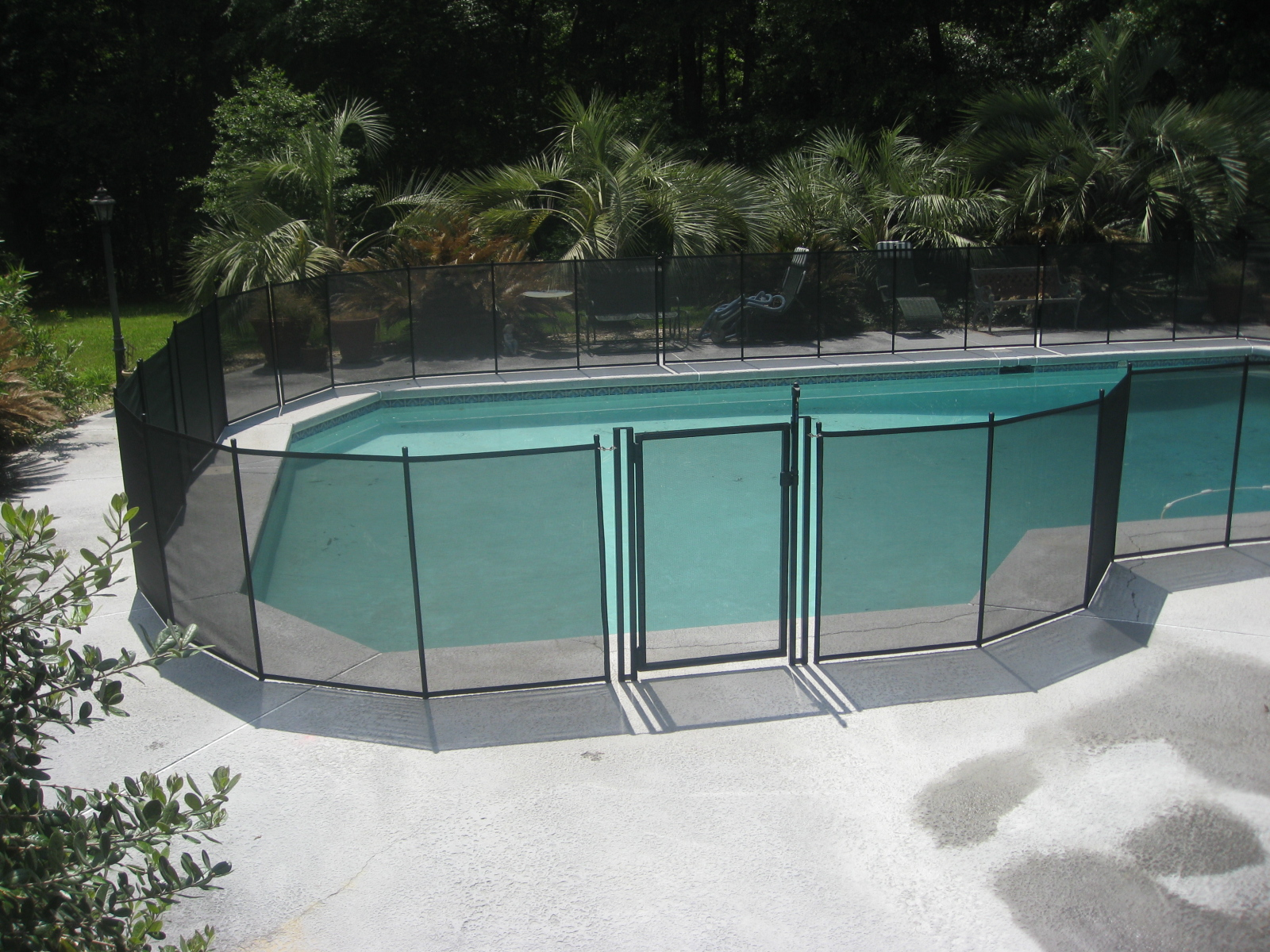 What Is A Pool Fence Mesh Pool Fence Gallery Atlanta Ga